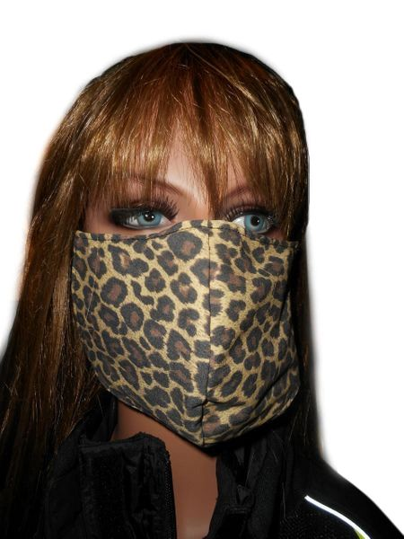 Face mask fitted style, breathable fabric, reusable and washable for adults Made in USA.