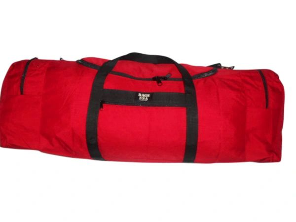 Extra Ex large duffle with two separate end compartment great for travel or dive gear.