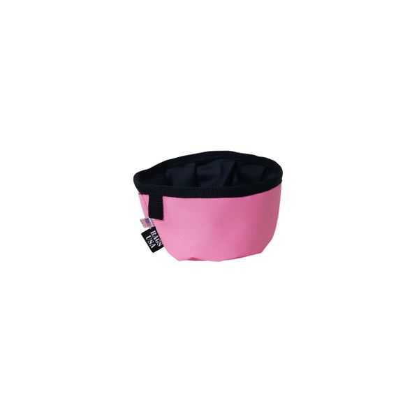Dog Bowl, Travel Reusable And Collapsible, Guaranteed Water Proof Made in USA.