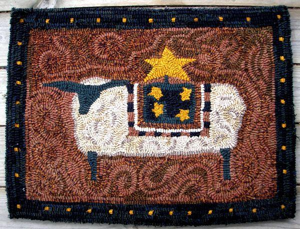 Starry Sheep Pattern
