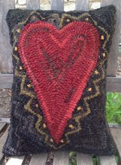 Sawtooth Heart Pattern