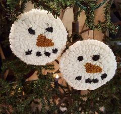 Snow Ball Ornaments