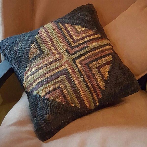 Four Corners Log Cabin Pillow Pattern