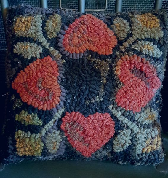 Four Hearts Pillow Kit