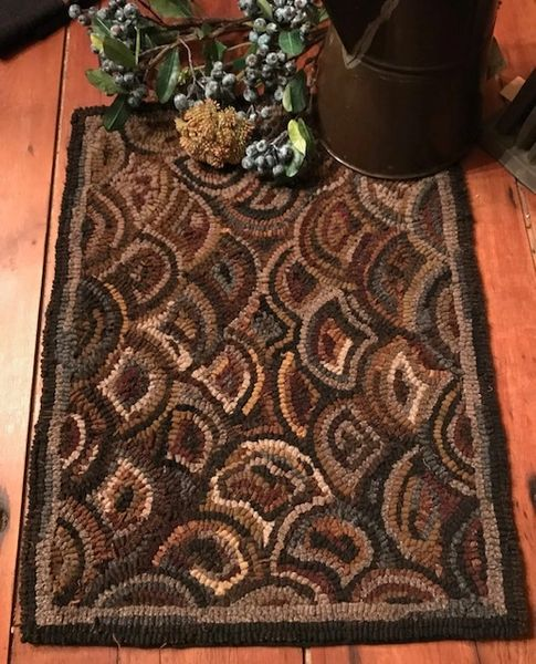 Antique Shell Rug Pattern