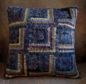 Dirty Window Pillow Pattern