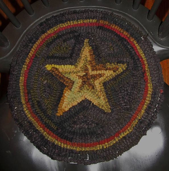 Primitive Star Chair Pad Pattern