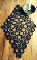 Rocky Road Penny Rug