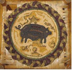 Folkart Pig Chair Pad Kit