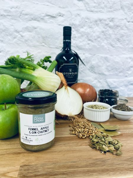 Fennel, Apple & Gin Chutney