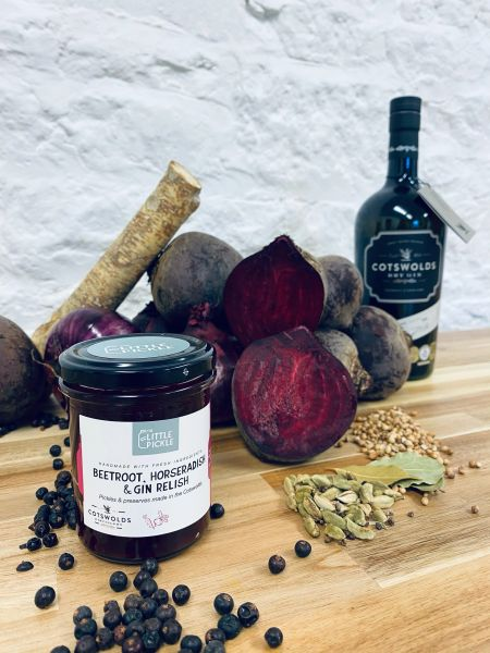 Beetroot, Horseradish & Gin Relish
