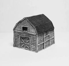 (6mm) Gambrel Barn (6B005)