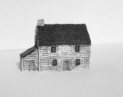 (6mm) Clapboard Homestead (6B001)