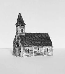 (6mm) Timber Chapel (6B011)