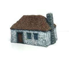 (Ready Painted) 10mm Russian Cottage