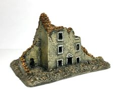 (Ready Painted) 6mm Three Story Ruin