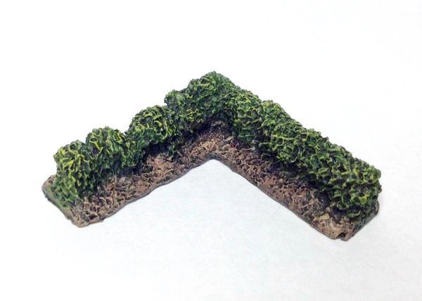 (10mm) Hedgerow Corner Section (pack of 4)