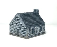 (6mm) Single Storey Clapboard House (6B038)