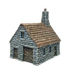 (10mm) Village Blacksmiths (P10B027)