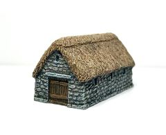 (6mm) Thatched Stone Barn (P6B037)