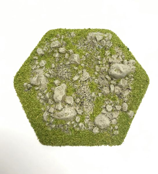 Hex 'Broken Ground' Tile Topper
