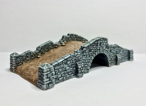 10mm Battle Damaged Stone Bridge
