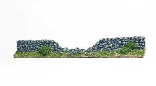 10mm Rural Stone Wall (breached)