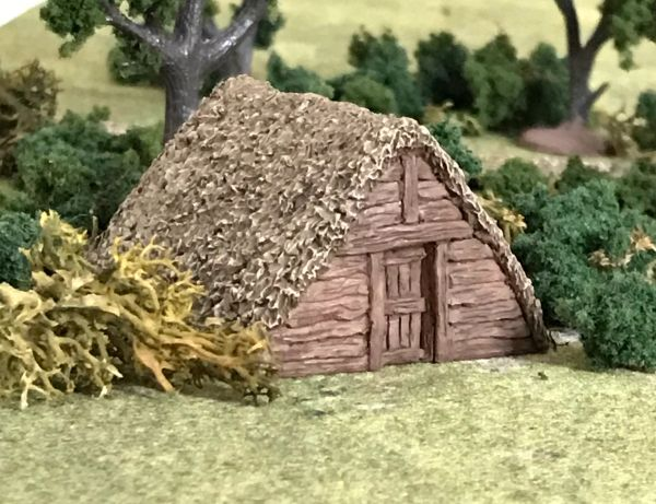 10mm Dark Age A-Framed Dwelling