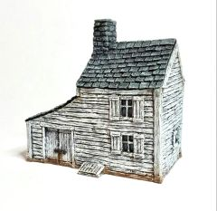 10mm Clapboard House & Carriage Shed