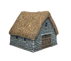 10mm Thatched Stone Barn
