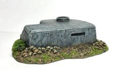 10mm Observation Bunker with Tobruk