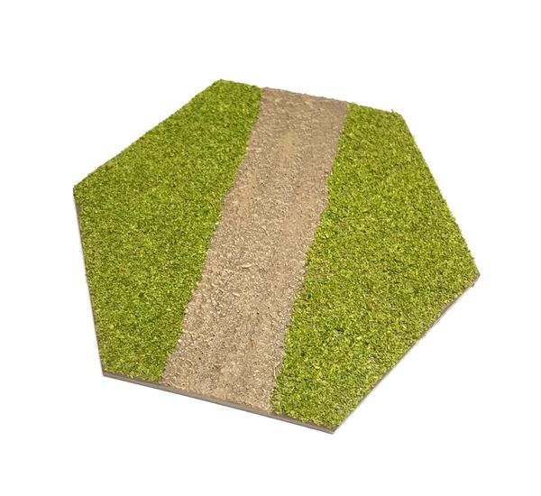 Hex Road (straight) Tile
