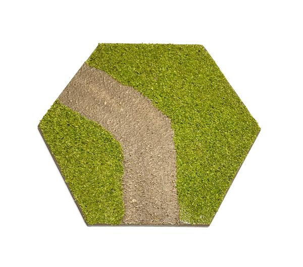 Hex Road (curve) Tile