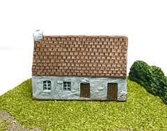(6mm) European Rendered Cottage (6B007)