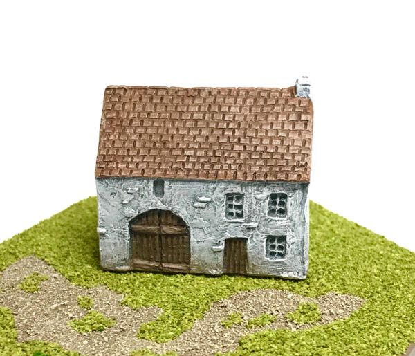 (6mm) European Rendered Farmhouse (6B006)