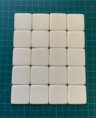 30mm x 30mm Bases (pack of 20)