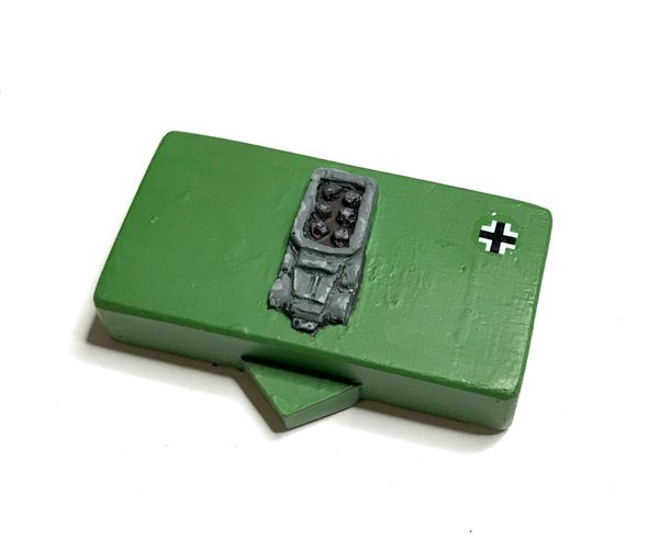 'Top Down' Generic Motorised Infantry Block (pack of 10)