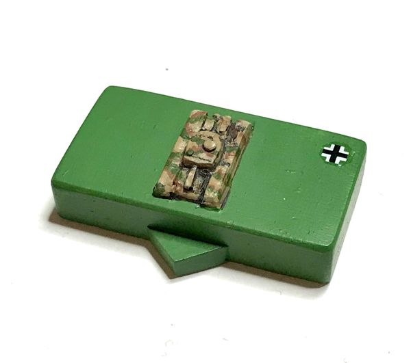 'Top Down' Generic Tank Block (pack of 10)
