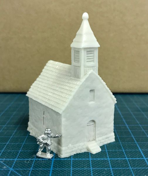 10 / 15mm Small Chapel