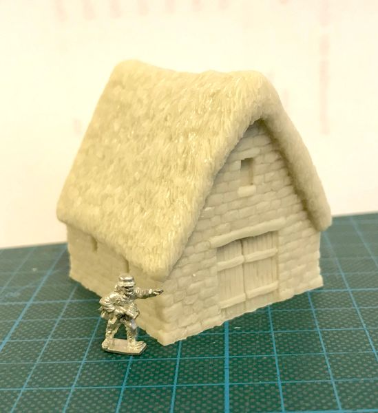 10 / 15mm Thatched Stone Barn