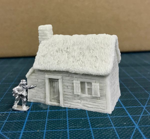 10 / 15mm Thatched Timber Cottage