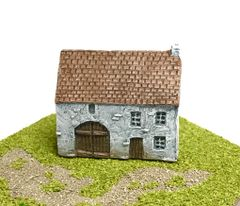 SOLD (6mm) European Rendered Farmhouse (ready painted)