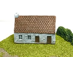 SOLD (6mm) European Rendered Cottage (ready painted)