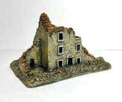(6mm) Three Story Ruin (ready painted)
