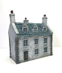 10mm European Townhouse #3 (ready painted)