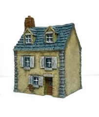 10mm European Townhouse #4 (ready painted)