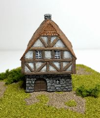 (6mm) Tiled Merchants House (ready painted )