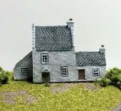 SOLD (6mm) Rural House with annexe (ready painted)