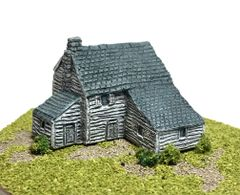 (6mm) Clapboard Farmhouse with Annexe (ready painted)