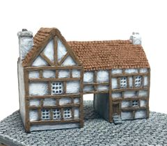 (6mm) Timber Framed Gatehouse (6B035)
